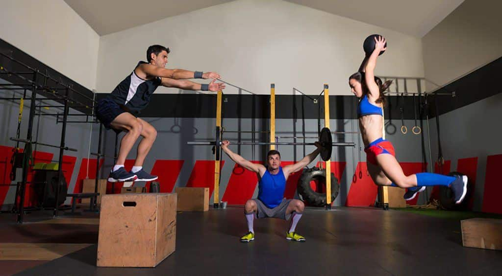 Plyometric training as part of CrossFit