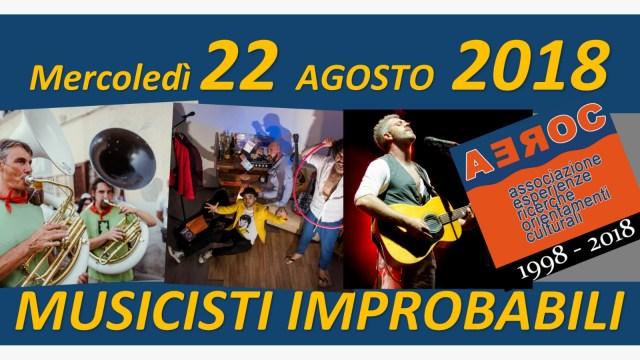 Musicisti Improbabili 22 agosto