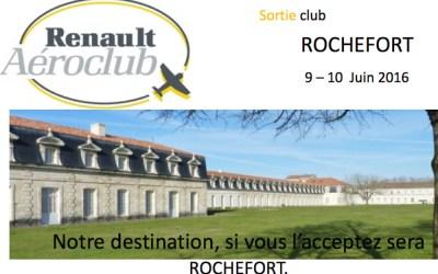 Sortie LFDN Rochefort les 9 et 10 juin 2016