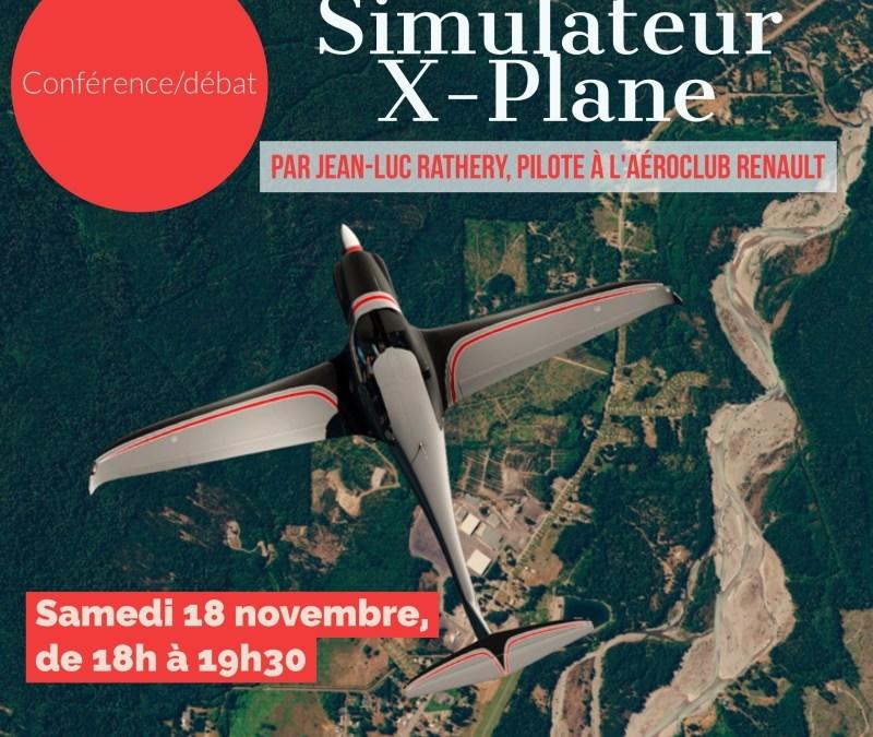 Les Flashs de l'ACR – Vol à Partage de Frais Élargi & Conférence X-Plane