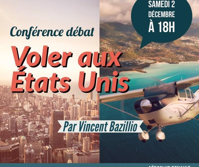 Les Conférences de l'ACR – Voler aux États-Unis