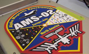 AMS-02 Full Color Graphic