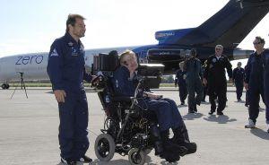 Zero G | Stephen Hawking