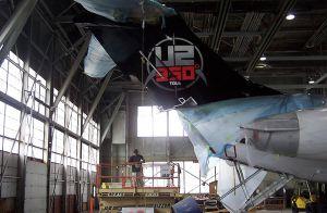 U2 360 Plane Graphics
