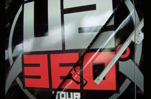 U2 360 Tour Plane Tail