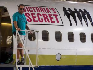 Victoria's Secret Plane
