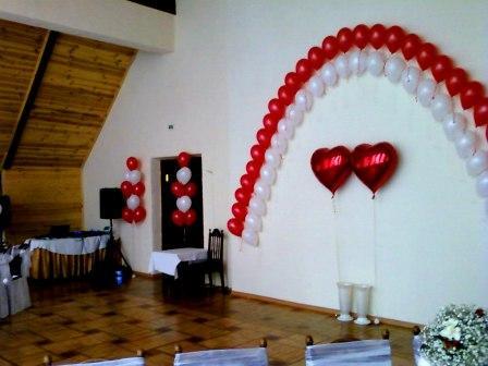 Украшение свадьбы шарами Киев свадебное оформление