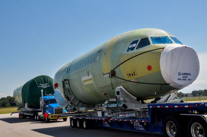 Airbus A320 Aeronaves EUA Estados Unidos