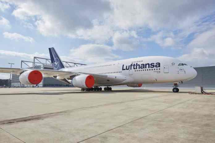 Lufthansa Airbus A380 Voos
