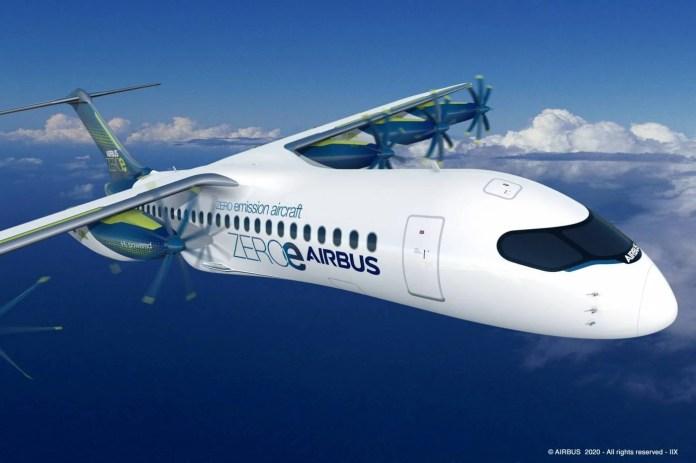 Airbus Hidrogênio Hydrogen