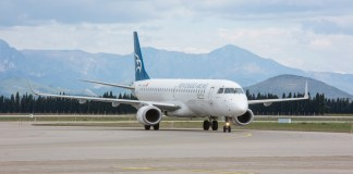 Embraer montenegro airlines