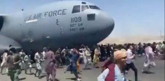 USAF Boeing C-17 Afeganistão Cabul