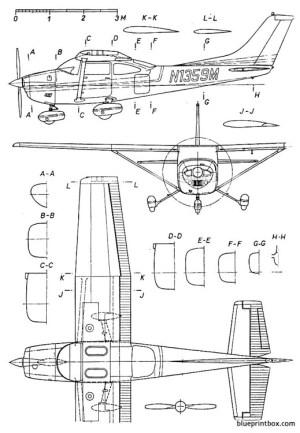 cessna 182 skylane Plans  AeroFred  Download Free Model