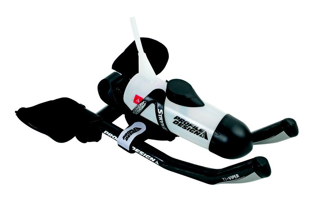 Profile Design Aero HC Aerobar Hydration System Water Bottle Computer Mount Bike