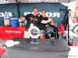 The team at Rotor was having a good time!
