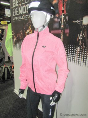 Sugoi has created a new line of clothing that sparkles when headlights hit it