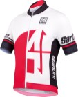 SANTINI SS15_Interactive 2.0 jersey - red