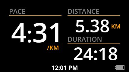 1. Dashboard - Running