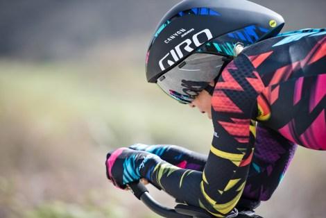 Giro Aerohead with Tiffany Cromwell Canyon//SRAM