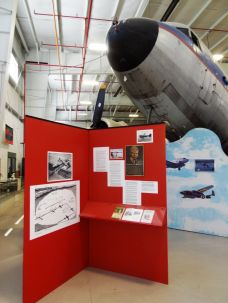 Information about the local hero connected to the Douglas is nicely displayed. I regret that I didn't take a brochure. If I ever get a chance to travel back to Urbana, Ohio and Champaign Aviation Museum, you can bet I will skip lunch to have some real quality time in this wonderful facility.