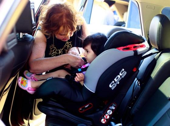 Viajar con niños en auto