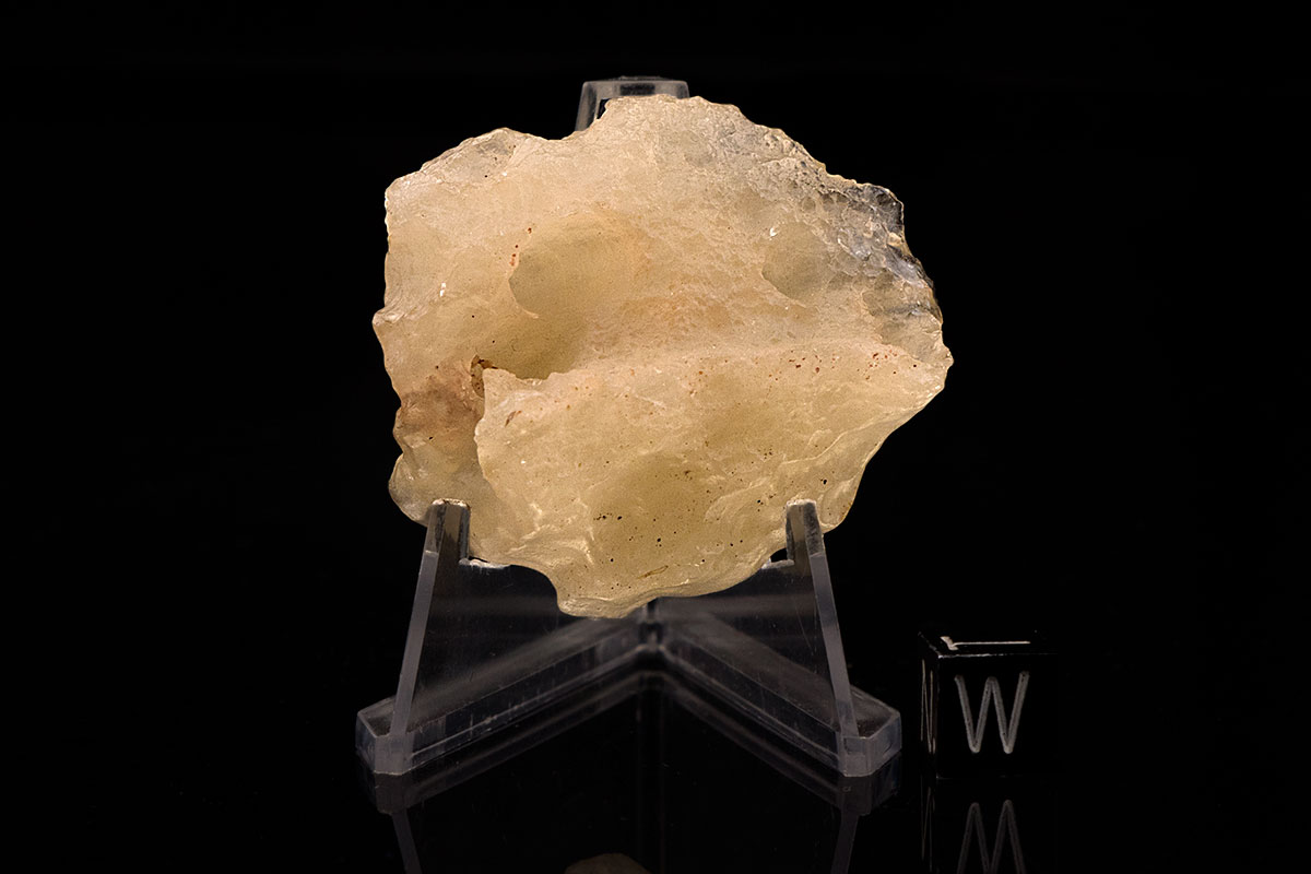 Libyan Desert Glass 36.5 Grams with natural hole
