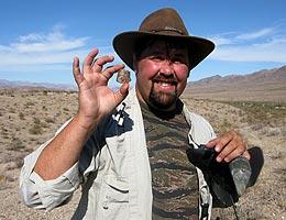 gold basin meteorite men