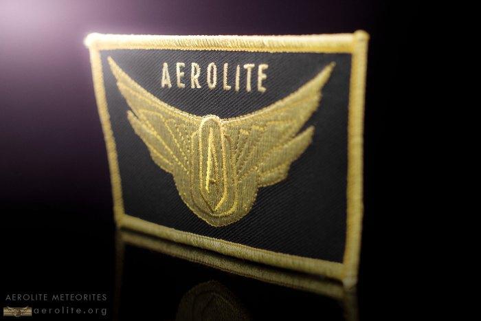 Aerolite Meteorites Logo Patch