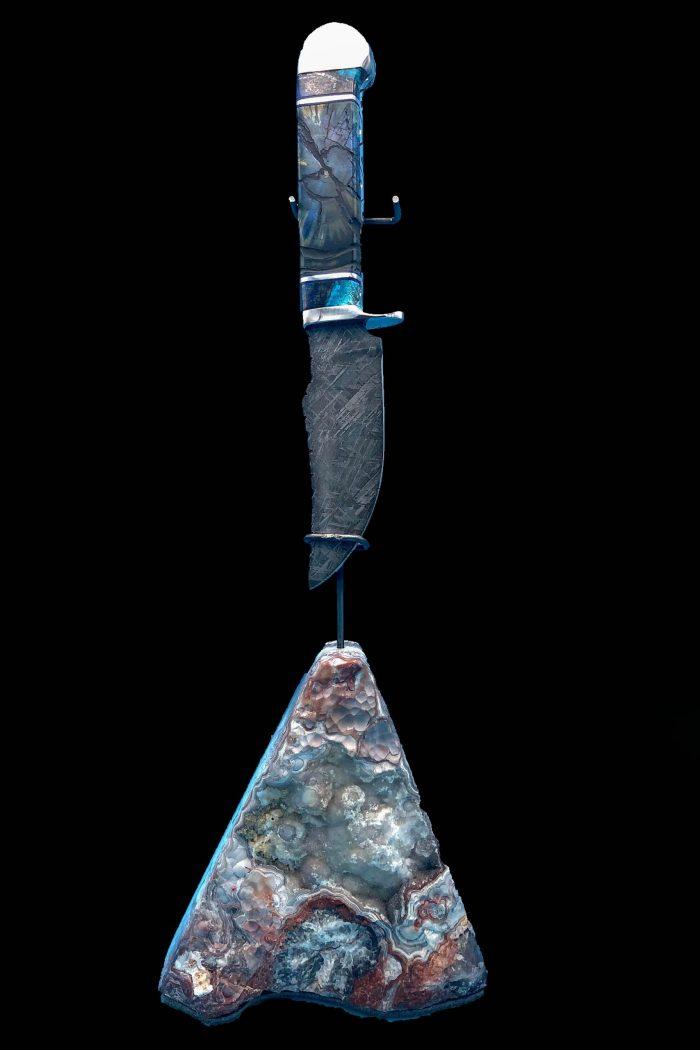 meteorite knife blade