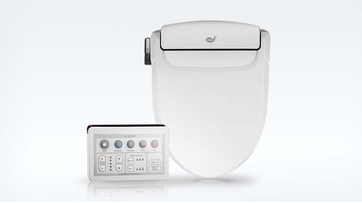 Izen 1 Smart Toilet Seat Electronic Bidet Seat Round