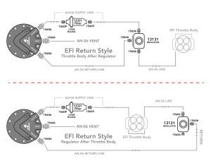 EFI Throttle Body Phantom 200 & Installation Kit
