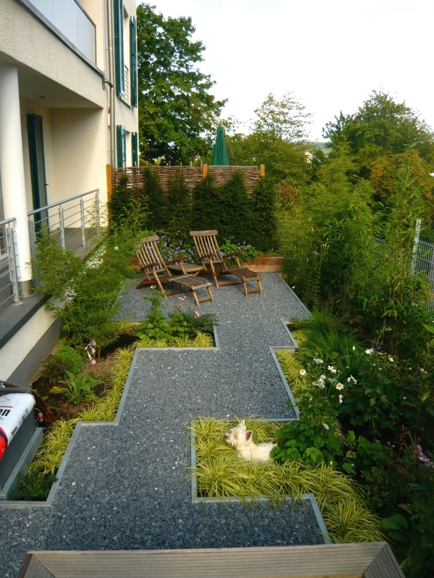 Schmaler Vorgarten Gestalten