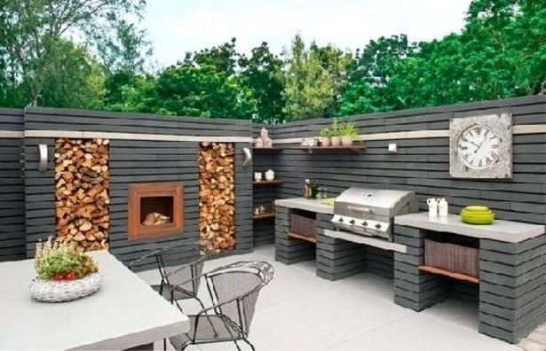 Grillplatz Garten Ideen   Ramster´s Holzbackofen ...