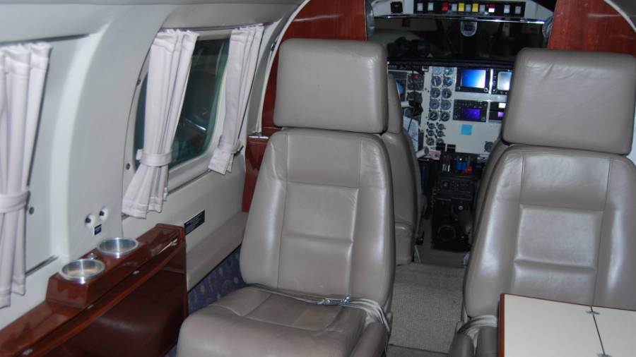 Piper Cheyenne II Turbo Pro N123EA Interior