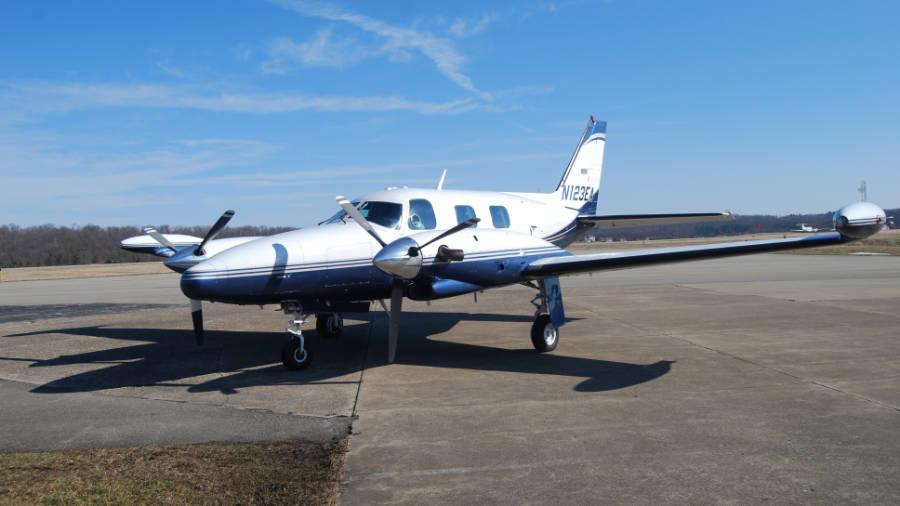 Piper Cheyenne II Turbo Pro N123EA