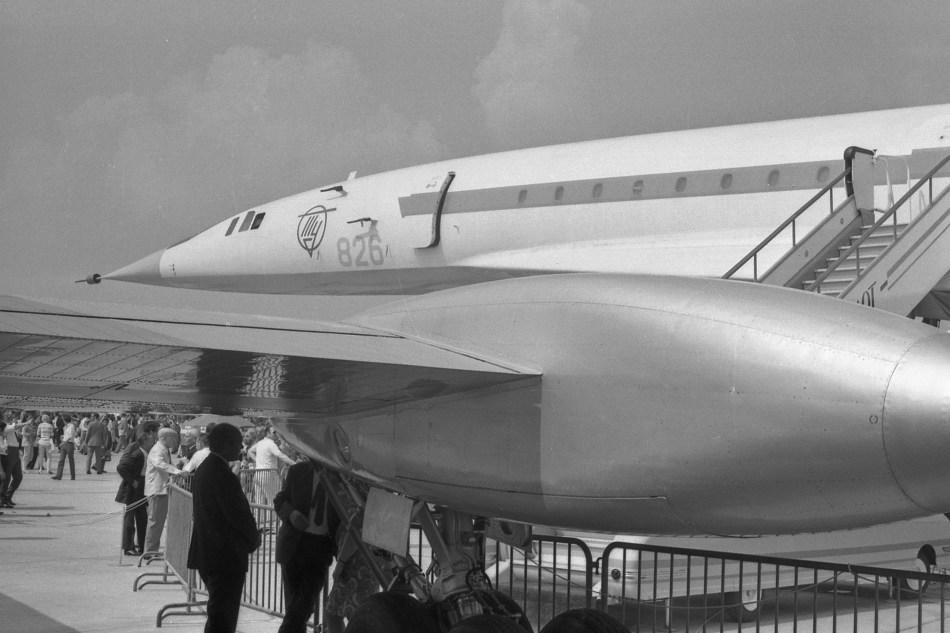 img489 Tupolev TU-144 prototype CCCP-68001