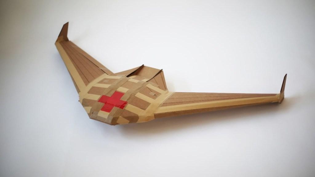 Drone de cartón