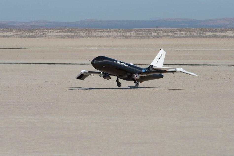 PTERA-Spanwise Adaptive Wing Flight