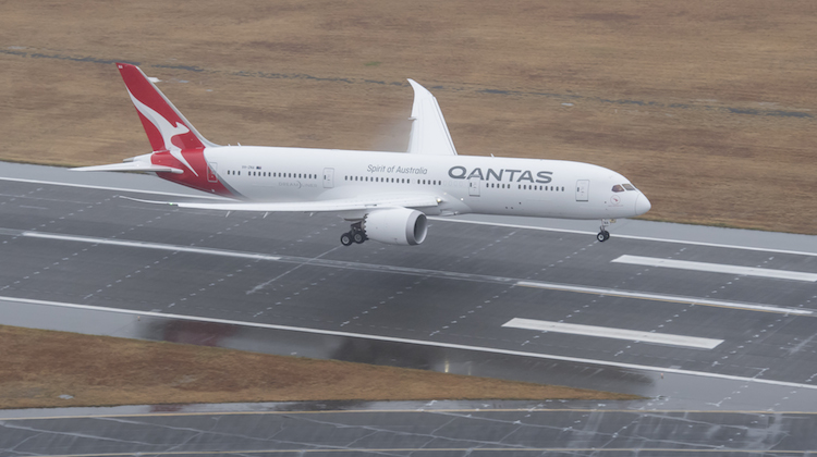 Boeing 787-9 Dreamliner, VH-ZNA