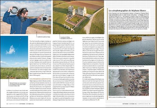 Compétence photo n°36 pages 56 et 57