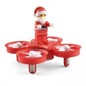 Le père Noël en drone