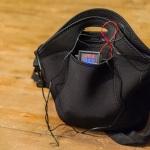Sac chauffe-batteries fermé avec le thermomètre à deux sondes