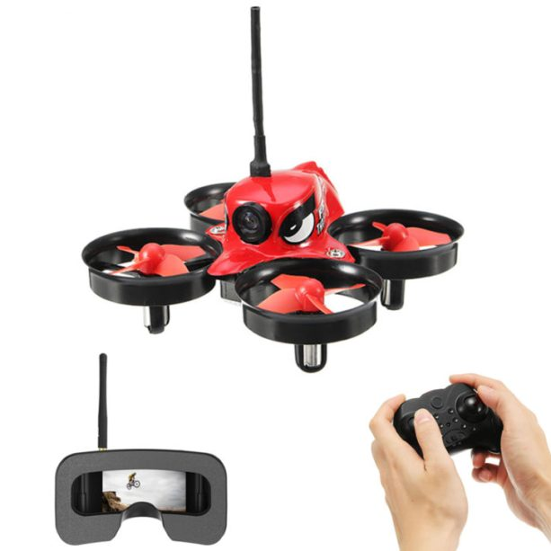 Kit microdrone Eachine E013 Micro FPV et masque Eachine VR006
