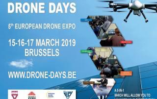 Affiche Drone Days 2019