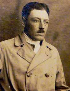 Victor Lasalle lors de ses débuts dans l'aviation