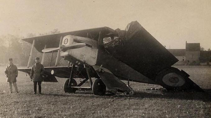 L'accident de Vouvray en 1926.
