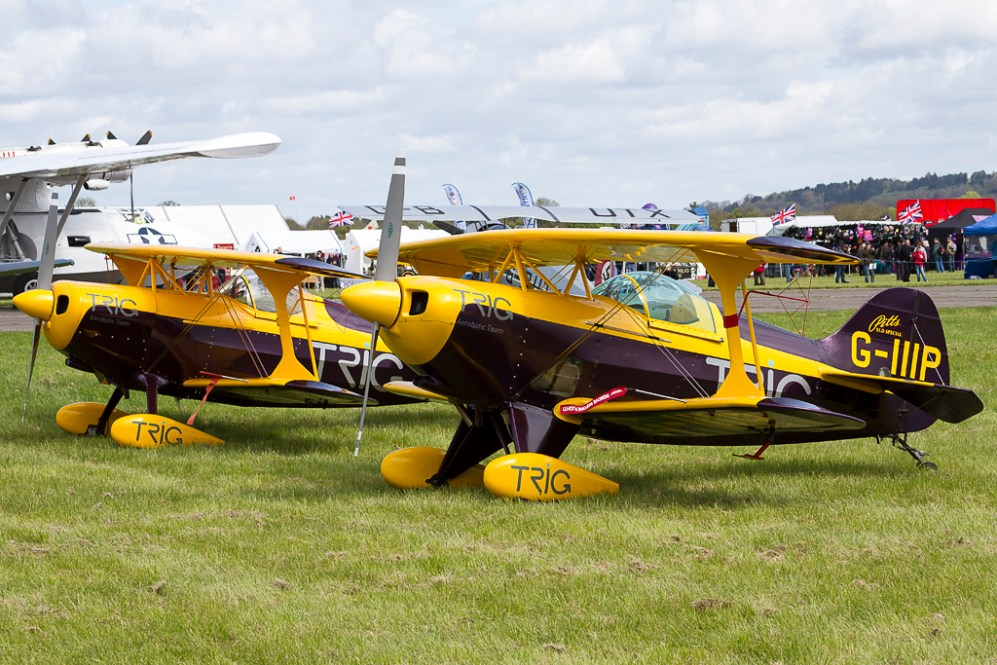 © Adam Duffield - Pitts S-1D Special • Trig Team • Abingdon