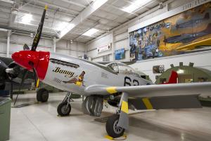 © Adam Duffield • North American Mustang P-51D N151B • Palm Springs Air Museum