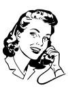 communication-lady