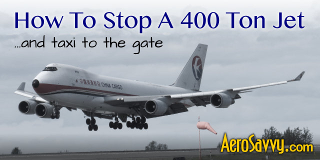 How To Stop an Airliner